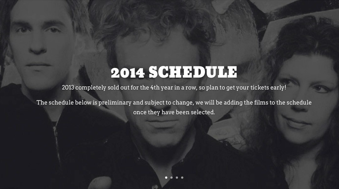 Full Schedule Now Posted