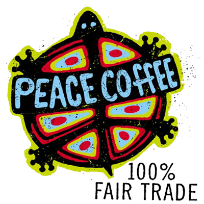 Peace Coffee 100% Fair Trade & Organic