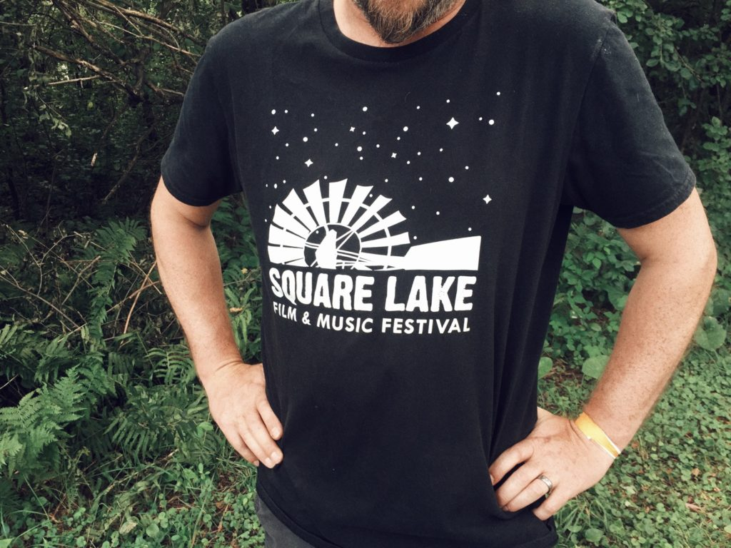 Square Lake t-shirt